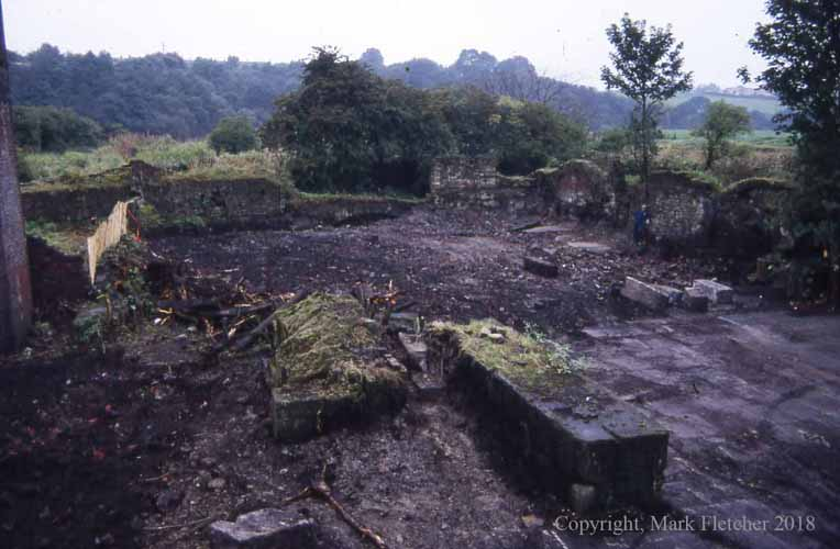 North-western part of Burrs Mill, August 1987.